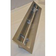 HPC 24 Inch Stainless Steel Firepit Trough Burner - LPG Model