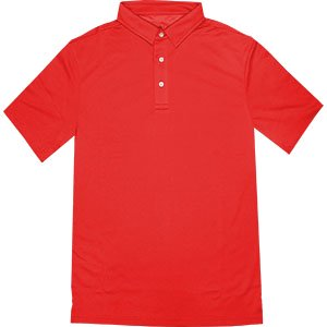 Island Trends Marco Polo Shirt   Scarlet