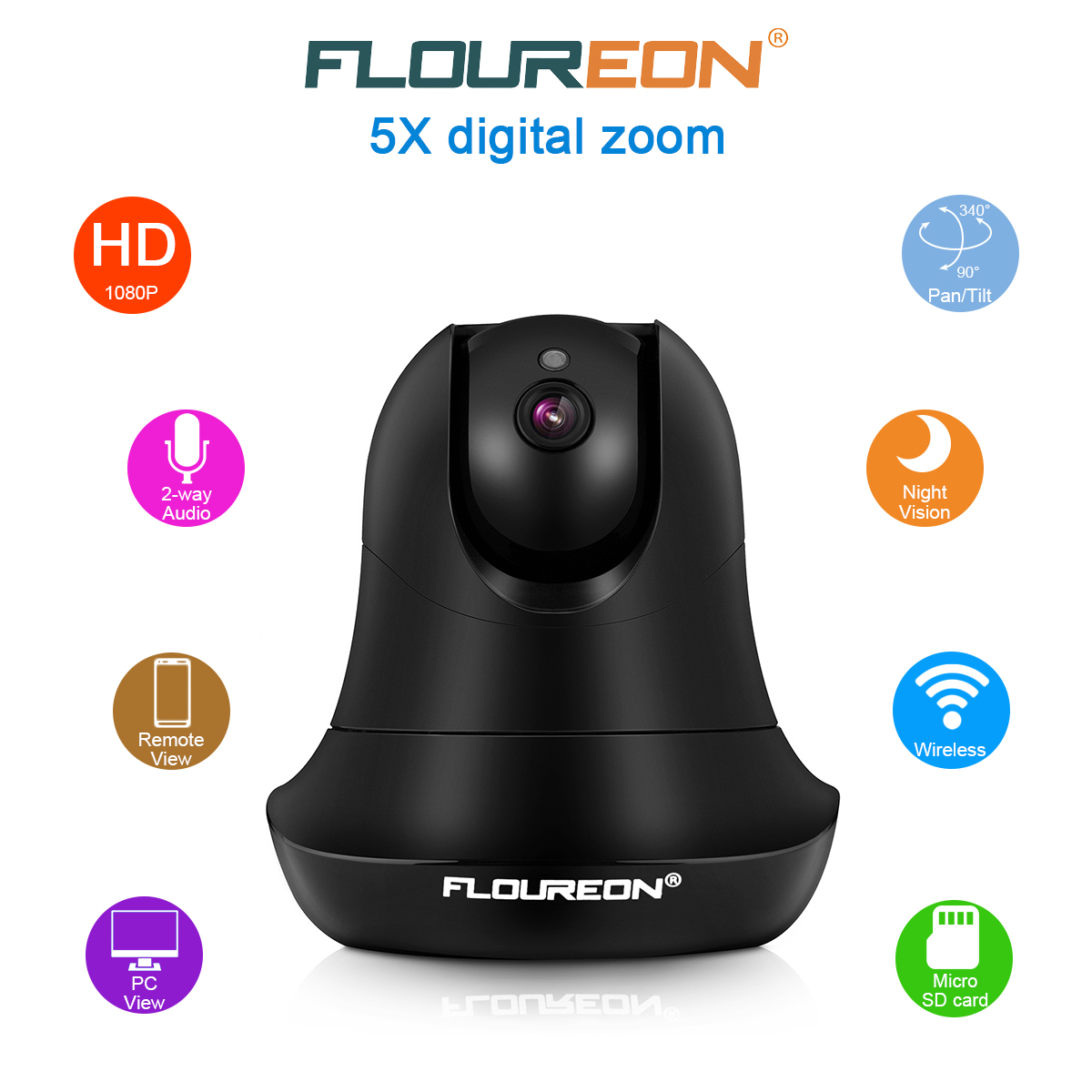 Wi-Fi Video Baby Monitor, Baby Monitoring System, Wi-Fi Camera