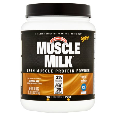 Muscle Milk Chocolate Lean Muscle Protein Powder  30 9 Oz