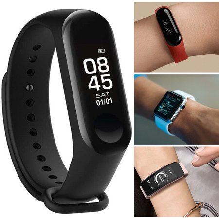 Fitness Tracker HR, Activity Tracker Watch with Heart Rate Monitor, Pedometer IP68 Waterproof Sleep Monitor Step Counter for Women Men - image 6 of 6