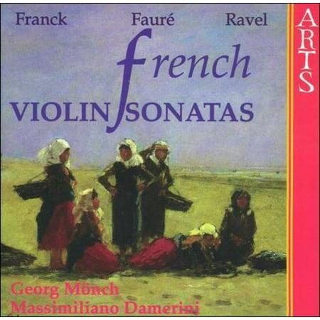 FRENCH VIOLIN SONATAS [FRANCK, C'SAR]
