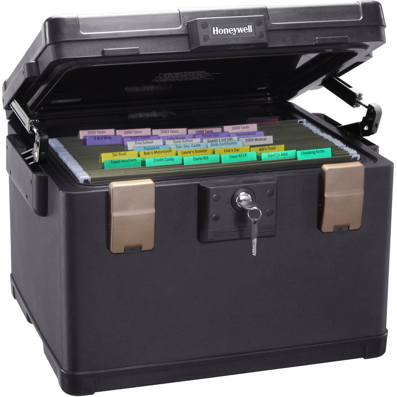 Honeywell 1.06 cu ft Legal Size Waterproof 1-Hour Fire File Chest, 1108 -  Walmart.com