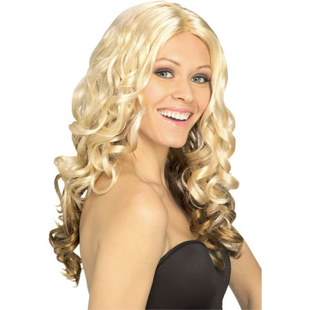 Goldilocks Wig Adult Halloween Costume Accessory - Bowie Wig