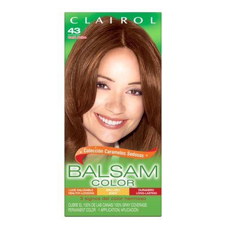 Clairol Balsam Color Hair Color, 043 Medium Golden Brown ()