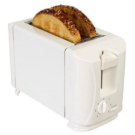 Brentwood Appliances TS-260A 2-Slice Wide-slot Toaster (White)
