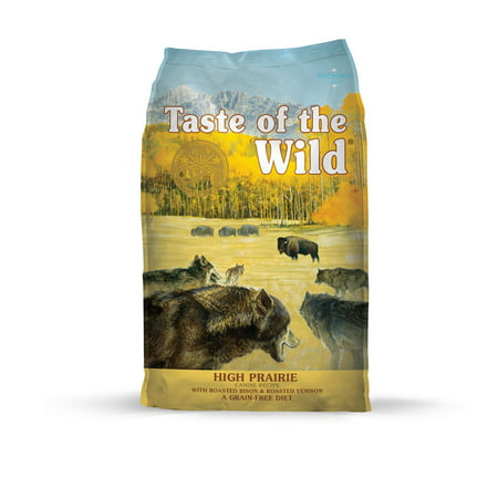 Taste of the Wild High Prairie Grain-Free Dry Dog Food, 30