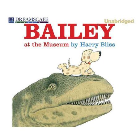 Bailey at the Museum by