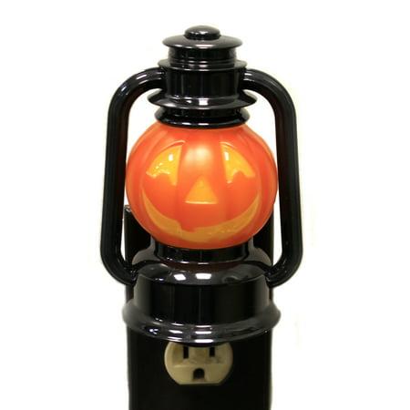 Halloween JACK-O-LANTERN NIGHT LIGHT Acrylic Flicker Light 167555