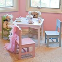 KidKraft Nantucket Pastel Table and Chair Set - 26101