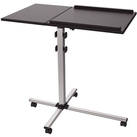 ProHT 05487 Extra Wide Adjustable Projector Laptop Trolley, -