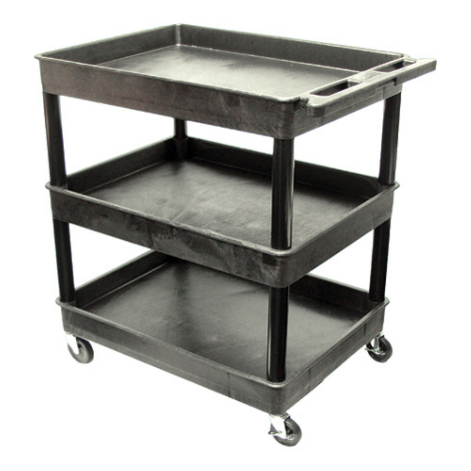 Luxor 3 Shelf Garden Center Cart with Casters
