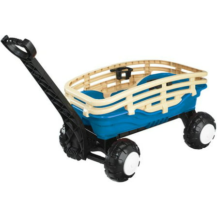 American Plastic Toys Deluxe Runabout Stake - American Retro Wagon