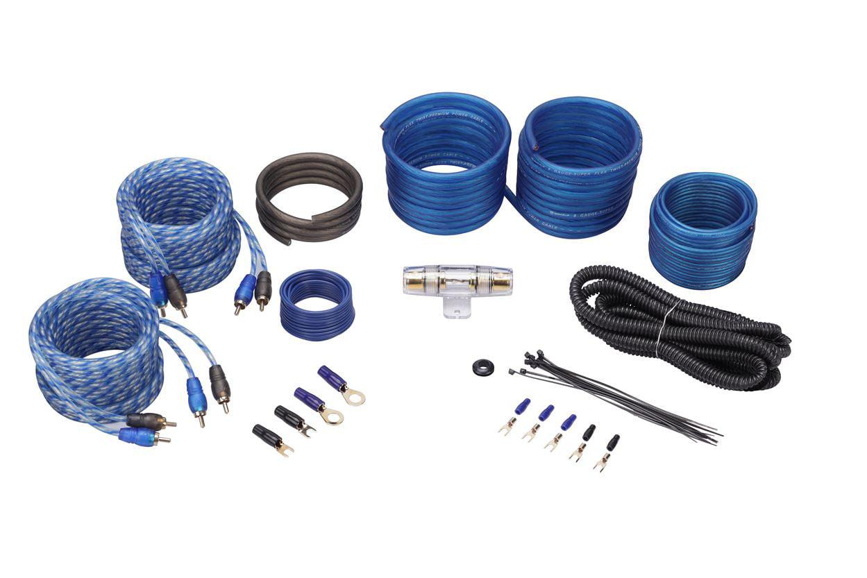 Rockford Fosgate R250x4 250 Watt Rms 4 Channel Car Amplifier Amp 4channel Wire Kit Audio Savings
