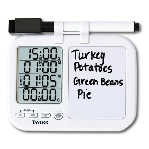 Taylor Plan and Prep Multi Event Timer (Set of 6)