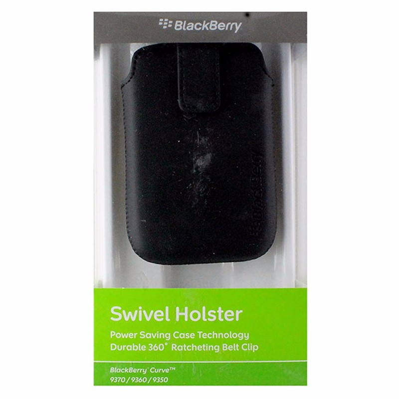 BlackBerry Holster for BlackBerry Curve 9370 / 9360 / 9350 - Black