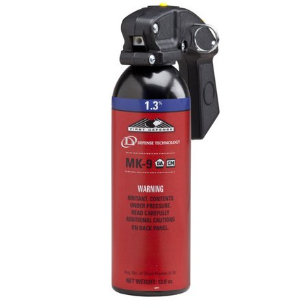 Defense Technology First Defense 1 3  Mk 9 Foam Oc Aerosol