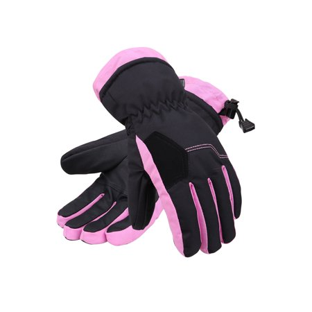 - Kids Boys Girls Waterproof 3M Thinsulate Winter Snowboard Ski Gloves S