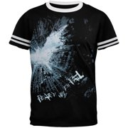 Batman Dark Knight Fear Ringer T-Shirt by