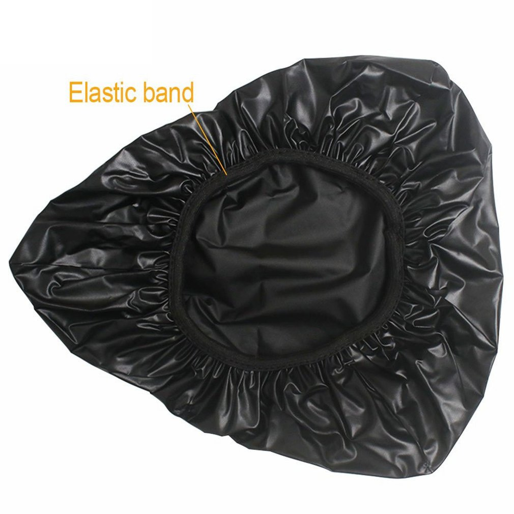 Known Bicycle Saddle Waterproof Cover Bicycle Seat Cushion Pvc Black Waterproof Seat Cover Bicycle Seat Bicycle Mat