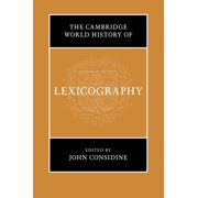 The Cambridge World History of Lexicography (Hardcover)