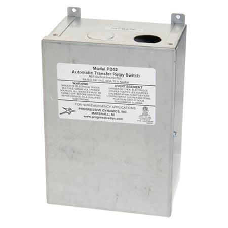 Automatic Switch - Progressive Dynamics PD52V 5200 Series Automatic Transfer Switch - 240 VAC, 50 Amp