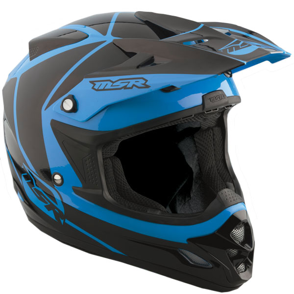 MSR Velocity 2013 MX/Offroad Helmet Blue 2XL