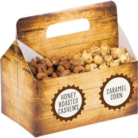 Cheers & Beers Snack Server Box, 1-Pack