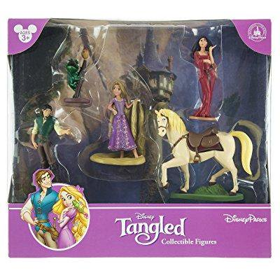 disney park tangled rapunzel figurine playset play set cake topper