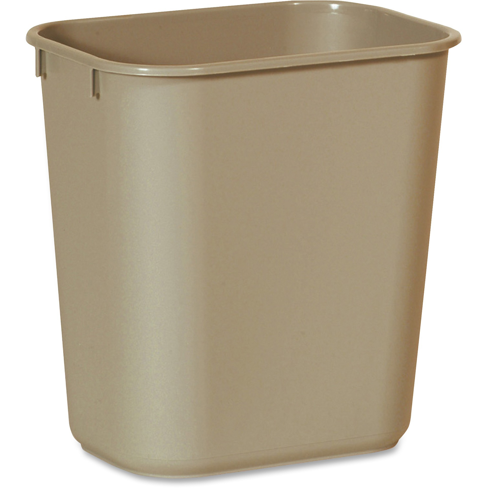 Rubbermaid Commercial, RCP295500BG, Standard Series Wastebaskets, 1, Beige