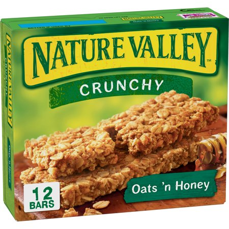 (Nature Valley Oats 'N Honey Crunchy Granola Bar, 8.94 oz)