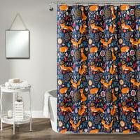"Pixie Fox 72""x72"" Shower Curtain"