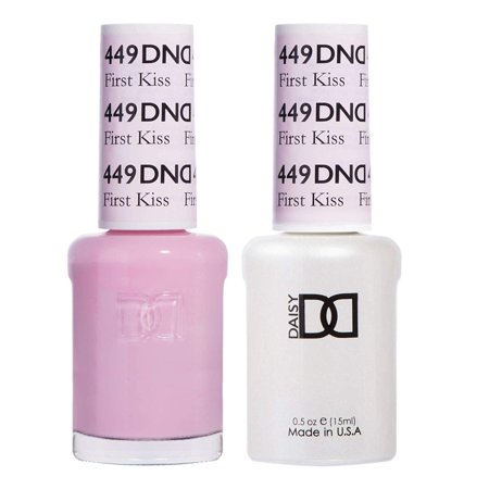 *Duo Gel* (Gel & Matching Polish) Spring Set 449 - First Kiss By DND First Beauty Set