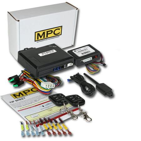 Complete Remote Start Keyless Entry Kit For 2001-2013 Honda Civic
