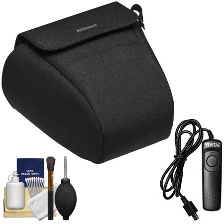 Nikon CF-DC9 Semi-Soft Digital Camera Holster Case for Z6 & Z7 Mirrorless  Cameras with Remote + Cleaning Kit