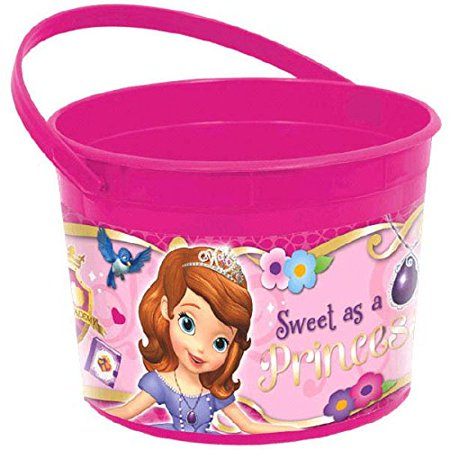 Disney Sofia the First Favor Bucket - Sophia The First Party