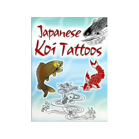Dover Pub Little Japanese Koi Tattoos Bk