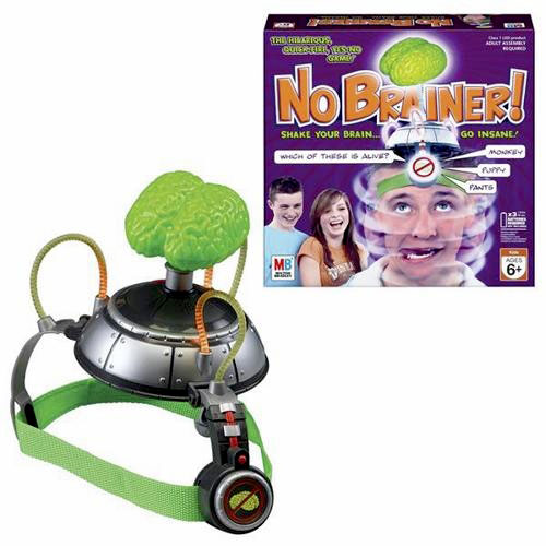 Milton Bradley No Brainer Hilarious Yes No Answer Game Family Fun by Hasbro