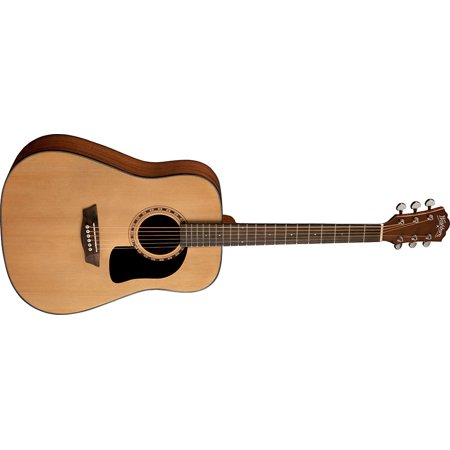 Washburn WD5K Acoustic Guitar Natural Rosewood Fretboard Select Spruce Top Mahogany Back and Sides with Case