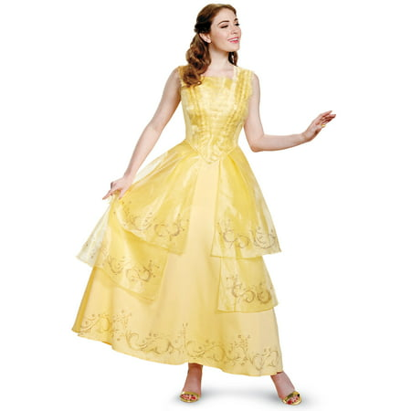 Belle Ball Gown Prestige Adult Costume - Ball Gown Costumes