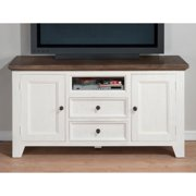 Jofran Nantucket 60 in. Media Unit - Aged White