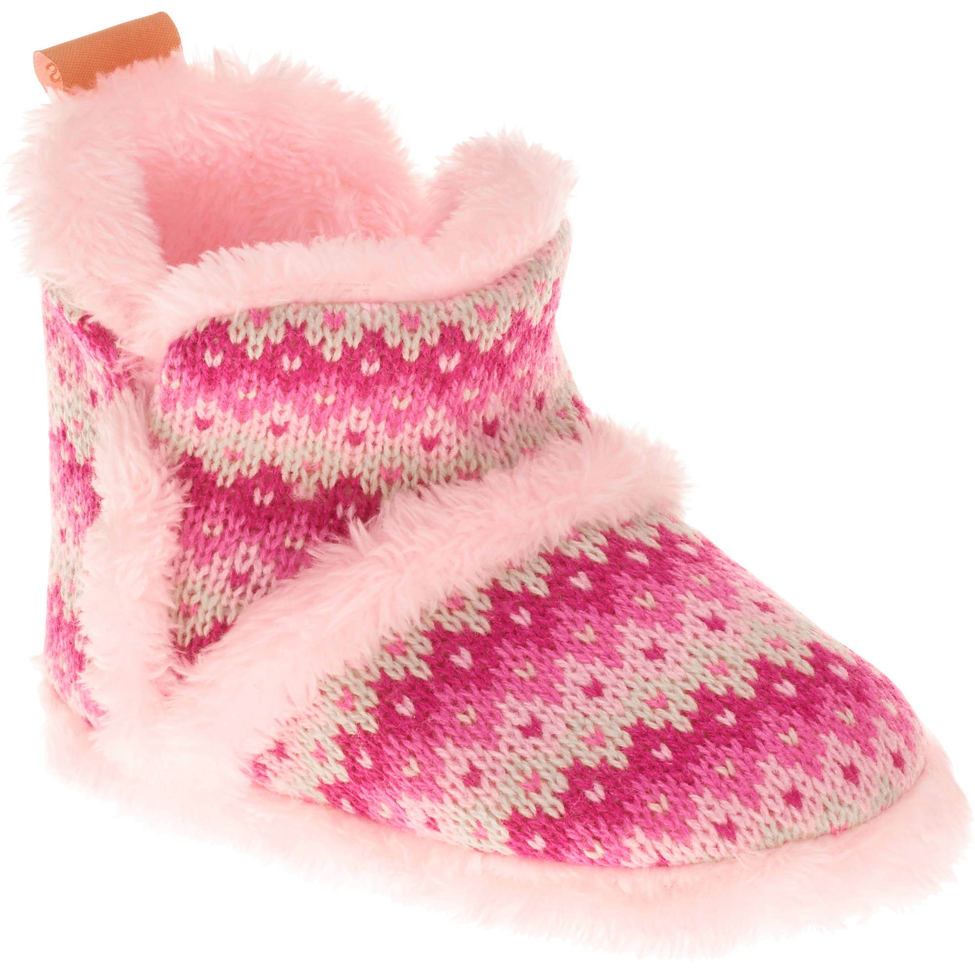 Skidders Baby Toddler Girls Knit Bootie