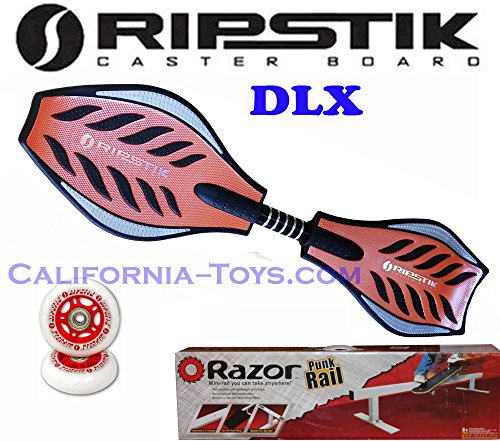 ORANGE Razor Ripstik DLX Castor Board with Extra set of R...