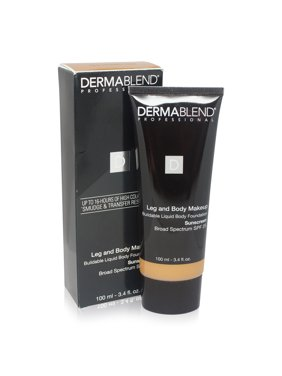 Dermablend Leg and Body Cover Make-Up SPF 25 Medium Golden 40W 3.4 Oz