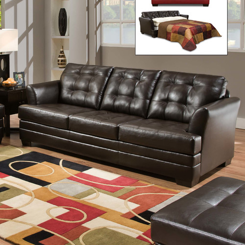 Alcott Hill Simmons Upholstery Rathdowney Sleeper Sofa by