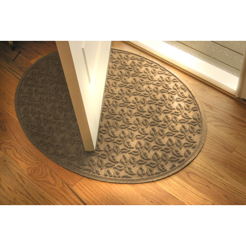 Bungalow Flooring Aqua Shield Dogwood Leaf Doormat