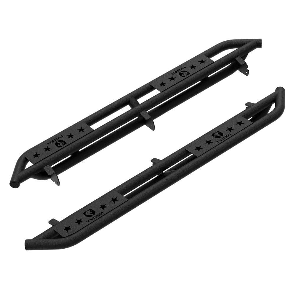 "Fit 2010-2020 Toyota 4Runner Rail 6/"" Running Board Side Step Nerf Bar H Black"