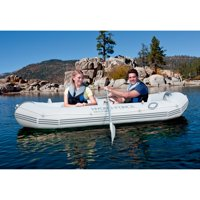 Deals on Ozark Trail Marine Pro Inflatable Boat w/Oars Pump and Storage Bag