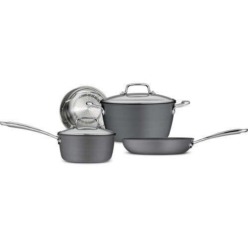 Tramontina 6 - Piece Gourmet Hard Anodized Non - stick Cookware Set