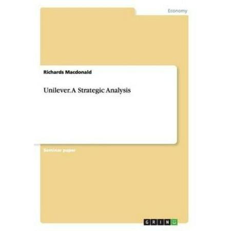 Unilever  A Strategic Analysis